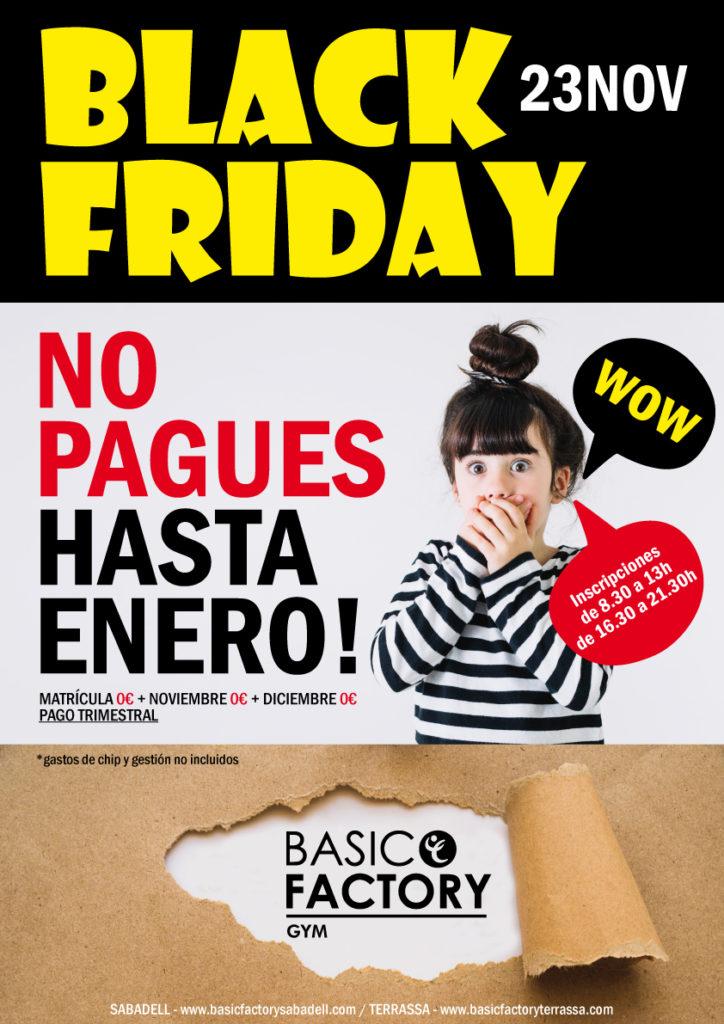 Basic Factory Terrassa Black Friday